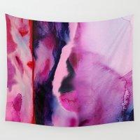 aurora Wall Tapestries featuring Aurora  by Nikki Neri