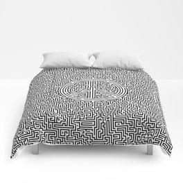 Ultimate peace maze Comforters