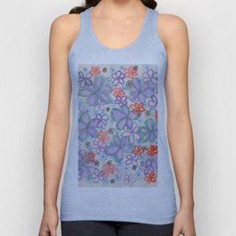 Flower Burst 2 Unisex Tank Top
