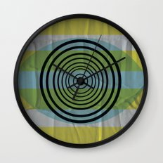 Auge gebumst Wall Clock