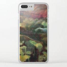Autumn Rebirth Clear iPhone Case