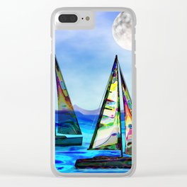Beyond The Sea Clear iPhone Case