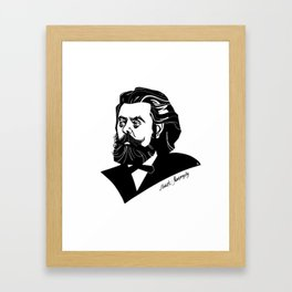 Modest Mussorgsky Framed Art Print