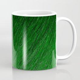 Funky Dark Green Coffee Mug