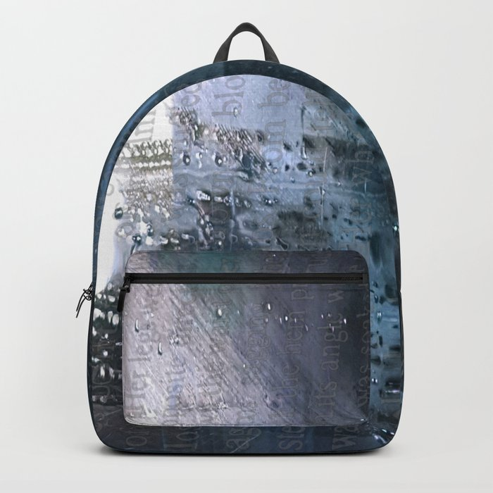 Taking the Evening Train Through Winter Words Backpack