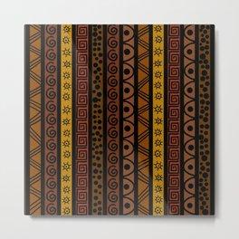 Ethnic african earth Metal Print
