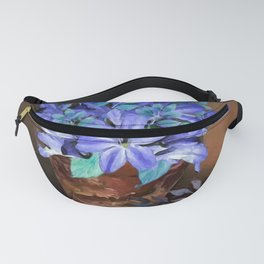 Flowers on a Country Table Fanny Pack