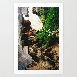 Railay Beach TH - Trail II Art Print