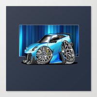 lamborghini Canvas Prints featuring Lamborghini  by Xr1s
