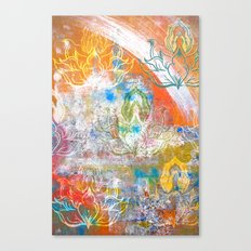 Collage de Mudra Canvas Print