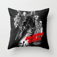 Meth City Throw Pillow