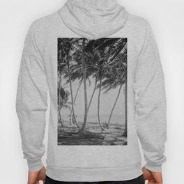 Miami Florida Palm Trees Black and White Vintage Photograph, 1915 Hoody