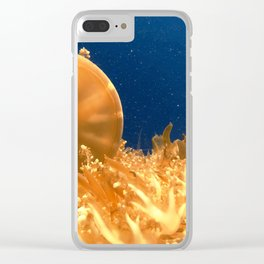 Sea Jellies Clear iPhone Case