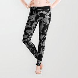 Black - Silver - Crazy Leggings