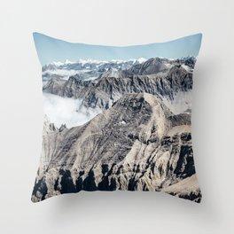 Mountain High Throw Pillow