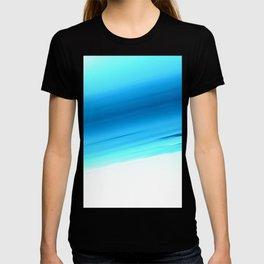 Turquoise Aqua Ombre T-shirt