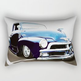 BLUE CHEVY 3100 Rectangular Pillow