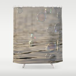 Bubble City Shower Curtain