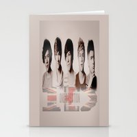 one direction Stationery Cards featuring One Direction by store2u