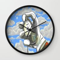 fullmetal Wall Clocks featuring Don't Forget by YellowStones