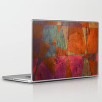 baroque Laptop & iPad Skins featuring Baroque Cubism by Tony Vazquez