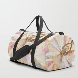 Sleeping Ballerina Floral - Gold Summer Palette Duffle Bag