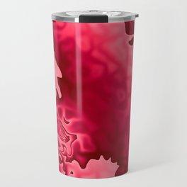 Bubble Gum Curlicue Travel Mug
