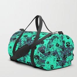 Paw Print Duffle Bag