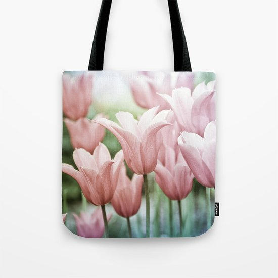Lovely Tulips Tote Bag