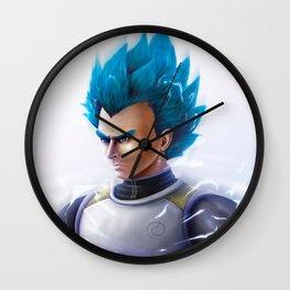 Super Saiyn Blue Wall Clock