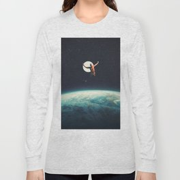 Returning to Earth with a will to Change Long Sleeve T-shirt