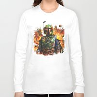 boba fett Long Sleeve T-shirts featuring Boba Fett by ururuty