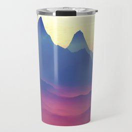 Mountains of Another World Travel Mug