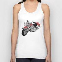 motorbike Tank Tops featuring MotorBike by tuncay cavdar