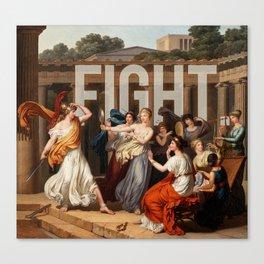 Fight. Canvas Print