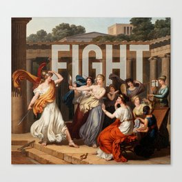 Fight. Canvas Print