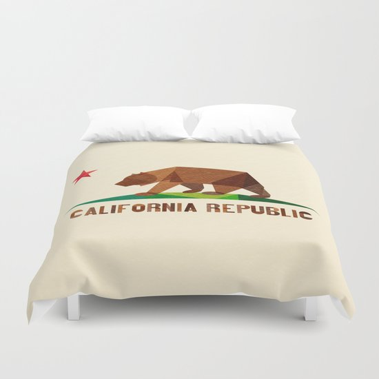 California Duvet Cover By Fimbis Society6