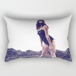Brittney Lapham - Volcanic Rectangular Pillow