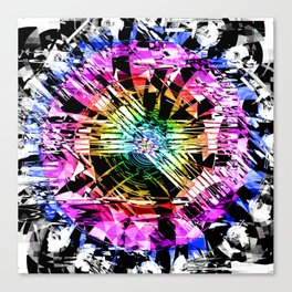 Undefined Noise Canvas Print