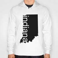 indiana Hoodies featuring Indiana by Isabel Moreno-Garcia