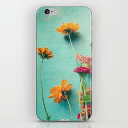 I Carry You With Me Into the World iPhone Skin