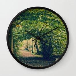 Precious Autumn  Wall Clock