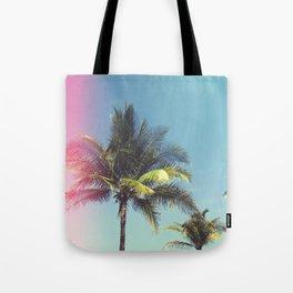 Tropical Palm Trees Tote Bag