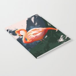 Sunset Flamingo Notebook