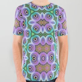 Symmetrical Art // Geometric Art // 2021_005 All Over Graphic Tee