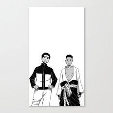 Cole Uzumaki x Kendrick Uchiha Canvas Print