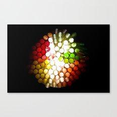 Honeycomb Illumination Canvas Print