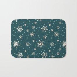 Snowflake Flurries Bath Mat
