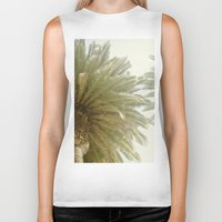 palm trees Biker Tanks featuring Palm Trees by The ShutterbugEye