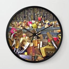 Lovelocked Wall Clock